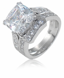 5.5 ct. Cushion Winston Bridal Set