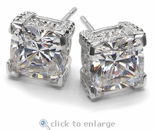 1.5 ct. Each Decadence Stud Earrings