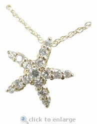 Starfish Pendant by Ziamond