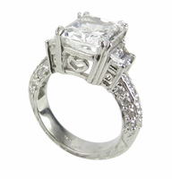 Trapezoid Scintillation Ring by Ziamond