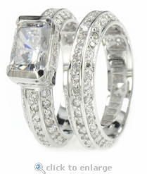 1.5ct Luxotica Wedding Set