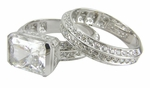 2.5ct  Luxotica Wedding Set