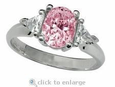 Legally Blonde 2 Style Ring 1.5 ct. Center