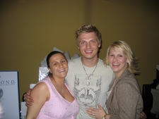 Nick Carter of The Backstreet Boys