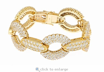 Hayworth Bracelet Featuring Ziamond Cubic Zirconia