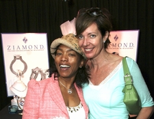 Angela Bassett and Allison Janney