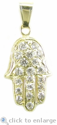 The Ziamond Hamsa Pendant