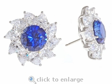 Johanna Cluster Earrings by Ziamond
