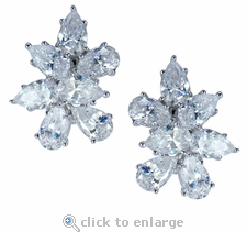 Donatella Cluster Earrings