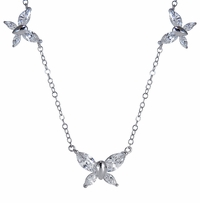 The Ziamond Butterfly Necklace