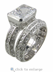 4 ct. Luxotica Wedding Set