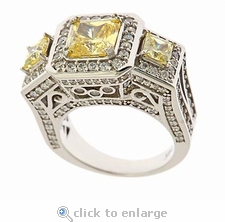 Monte Carlo Ring By Ziamond