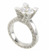 Empire Solitaire Ring By Ziamond