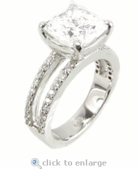 Britney Engagement Ring 1.5 ct.