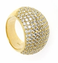 Domiani Pave Ring