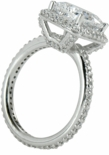 Hamilton 1.5 ct. Cushion Square Solitaire