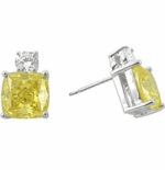2.5 carat each Kyra Stud Earrings