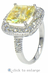 Selita Cushion Solitaire