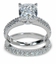 Cubic Zirconia Engagement Rings  And Cubic Zirconia  Wedding Sets