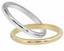 Ladies & Men's Gold And Platinum Wedding Bands