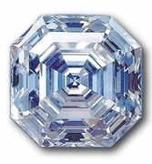 Asscher Cut Inspired Jewelry