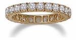 Clearance Cubic Zirconia Eternity Bands, Anniversary Bands