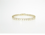 """S"" Link Tennis Bracelet - Medium Featuring Ziamond Cubic Zirconia"