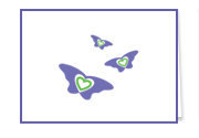 i-love-me Butterfly Note Cards