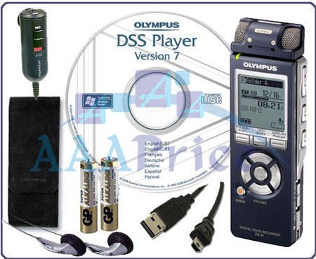 Olympus DS-61 Stereo Digital Voice Recorder DS61