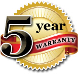 Five Year Limited Spa Covers Warranty