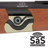 Hatsan Airgun Feature: Shock Absorber System (SAS)