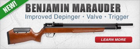 New Benjamin Marauder Wood Stock