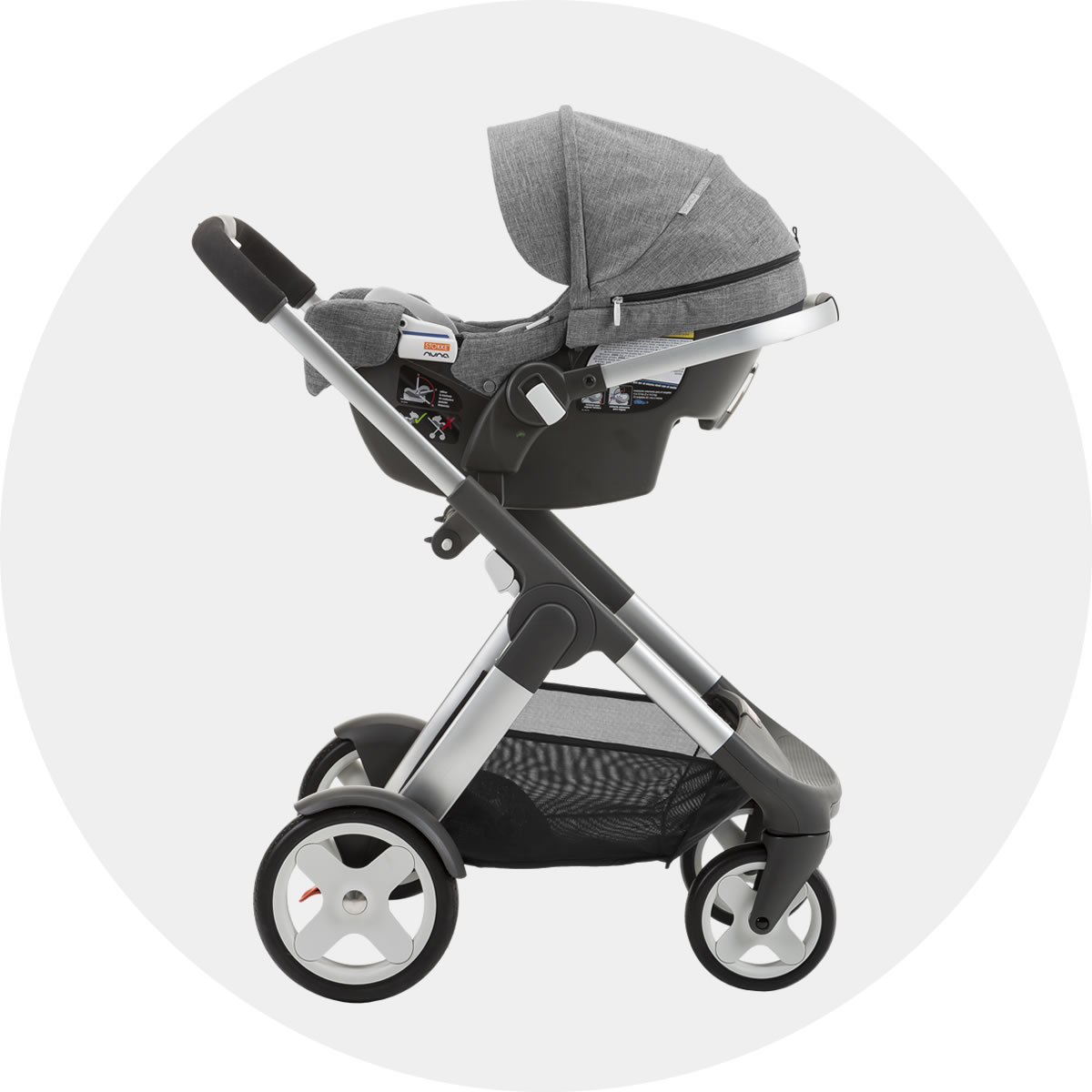Stokke Pipa Infant Car Seat By Nuna Black Black
