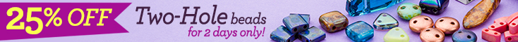 Two Hole Bead Sale