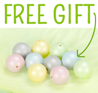 Gift with Purchase: Swarovski Crystal Pearls