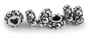 Gift with Purchase: Six TierraCast Turkish Heishi Spacer Beads