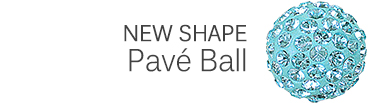 Shape Pave Ball