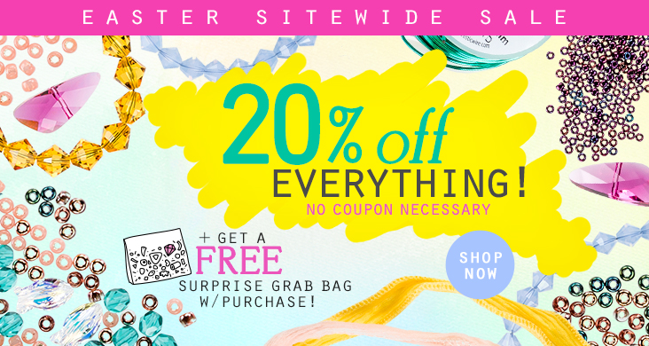 Easter Sale Save 20% on Everything