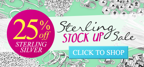 Sterling Silver Sale - All Sterling 25% Off