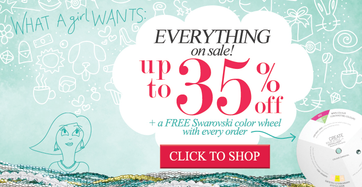 What a Girl Wants - 35% off everything and a free gift.