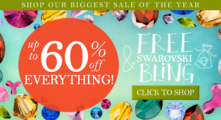 Biggest Sale of the Year- Everything up to 60% Off + FREE Gift with Purchase