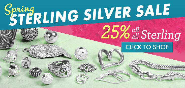 25% Off All Sterling Silver