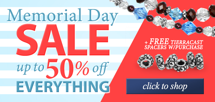 Memorial Day Sale - Up to 50% Off Everything