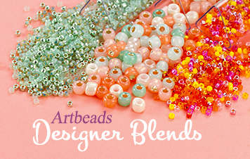Ab Designer Seed Bead Blends