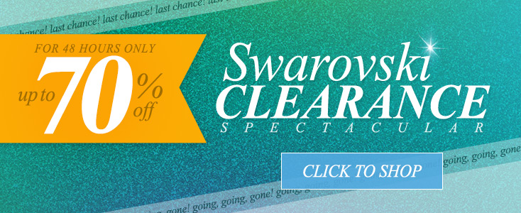Swarovski Clearance Spectacular - Up To 70% Off