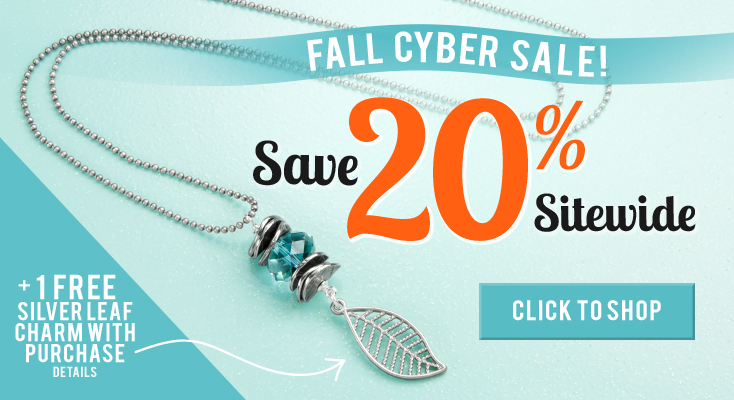 Fall Cyber Sale - 20% Off Everything + FREE Gift