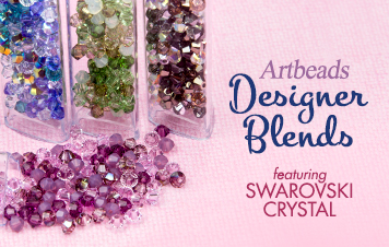 Artbeads Designer Blends featuring Swarovski Crystals