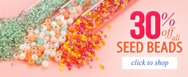 30% Off All Seed Beads