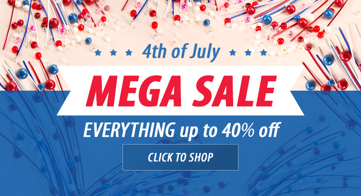 Up To 40% Off 4th of July Mega Sale