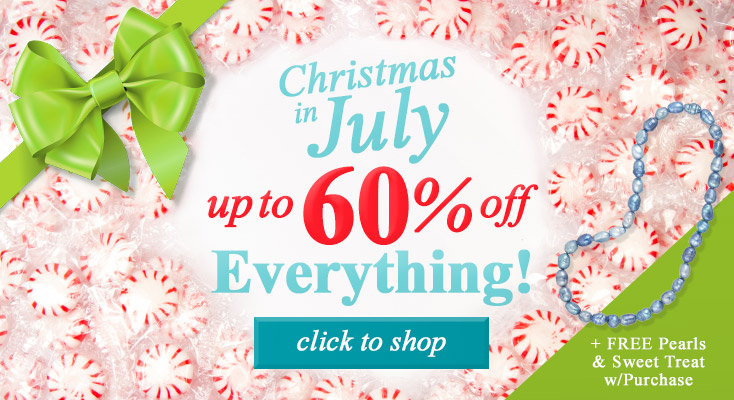 Christmas in July Up To 60% Off